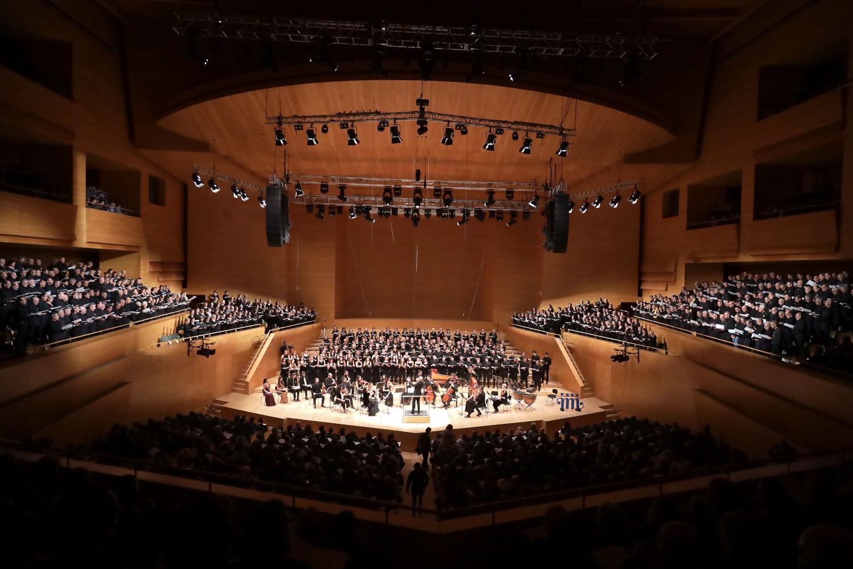 Imatge del concert del Messies de Handel el passat desembre de 2019
