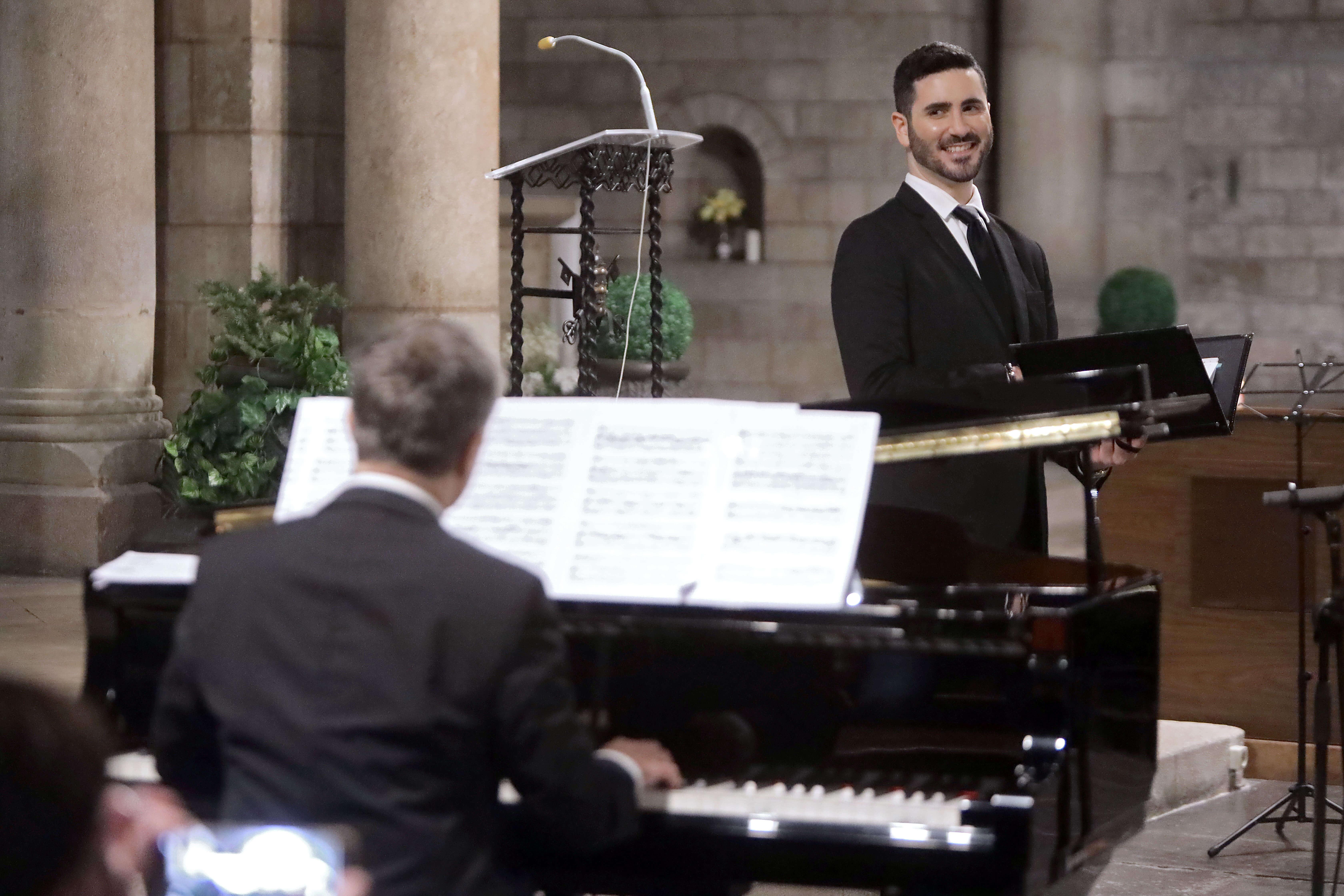 Victor Jimenez i Josep Surinyac en concert. Fotografia de Jordi Bardajil