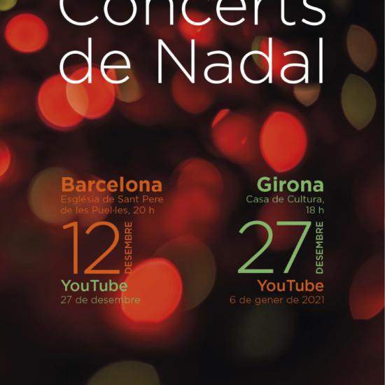 Concerts de Nadal a Girona i Barcelona